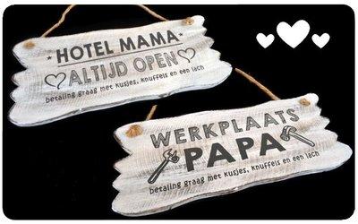 Papa of Mama bordje